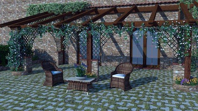 pergola aménagement de jardin