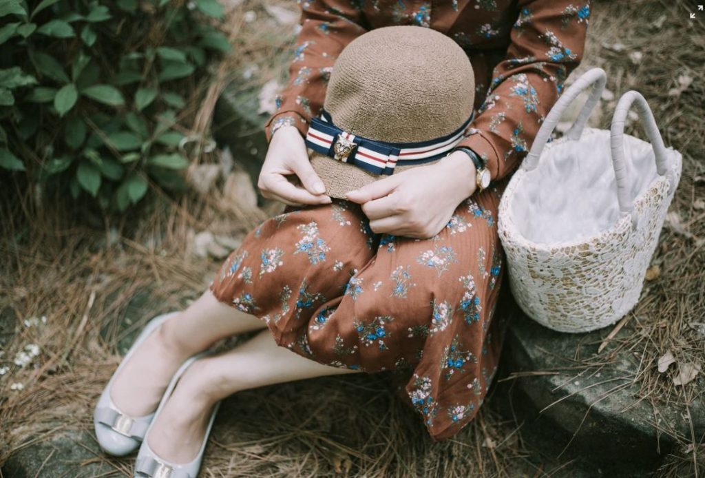 robe imprimé floral mode