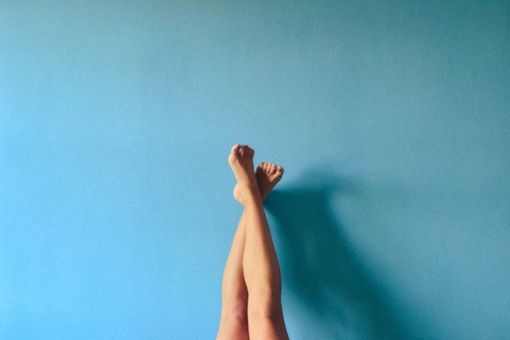 épilation des jambe avec lumière pulsée