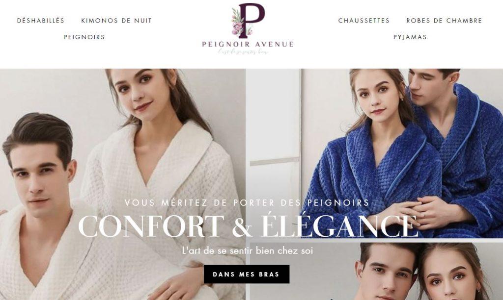 peignoir avenue