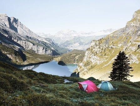 Dormir en toile de tente