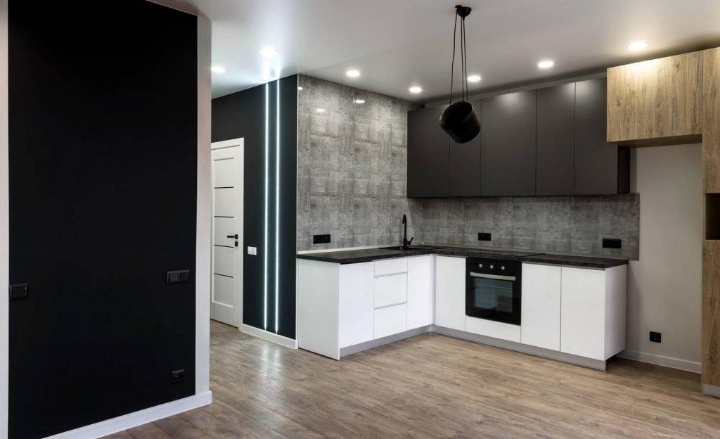 Une belle cuisine d'angle pour optimiser son espace