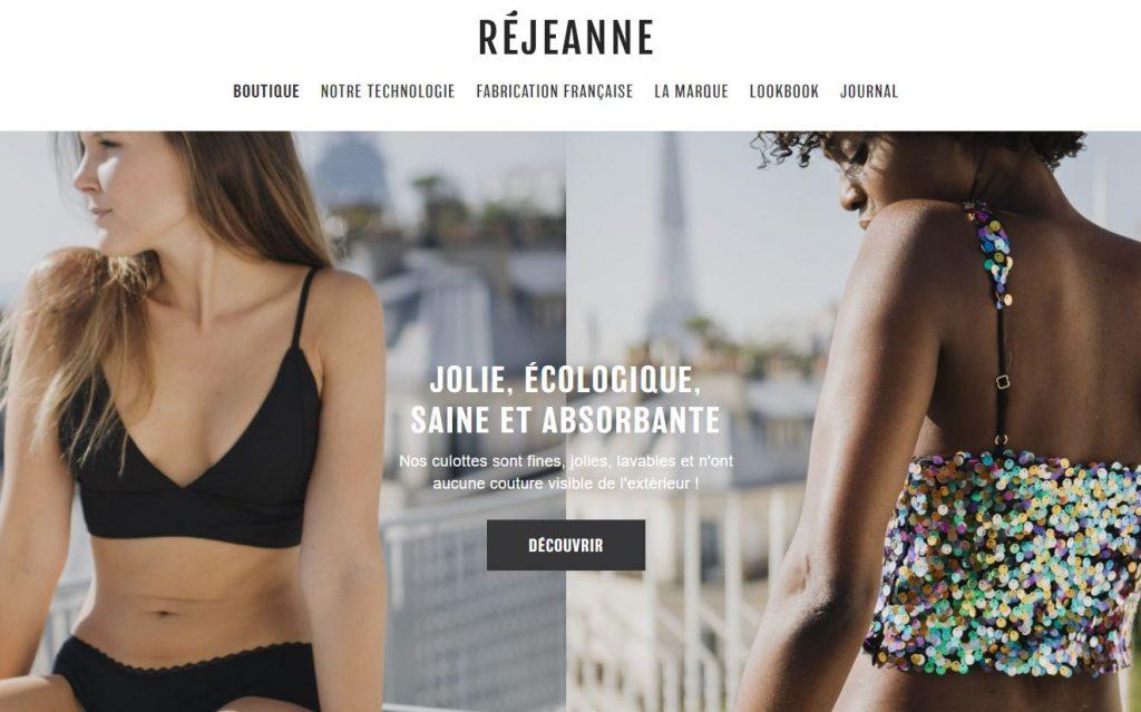 Rejeanne : la marque de culotte de règles bio et sans produits toxiques