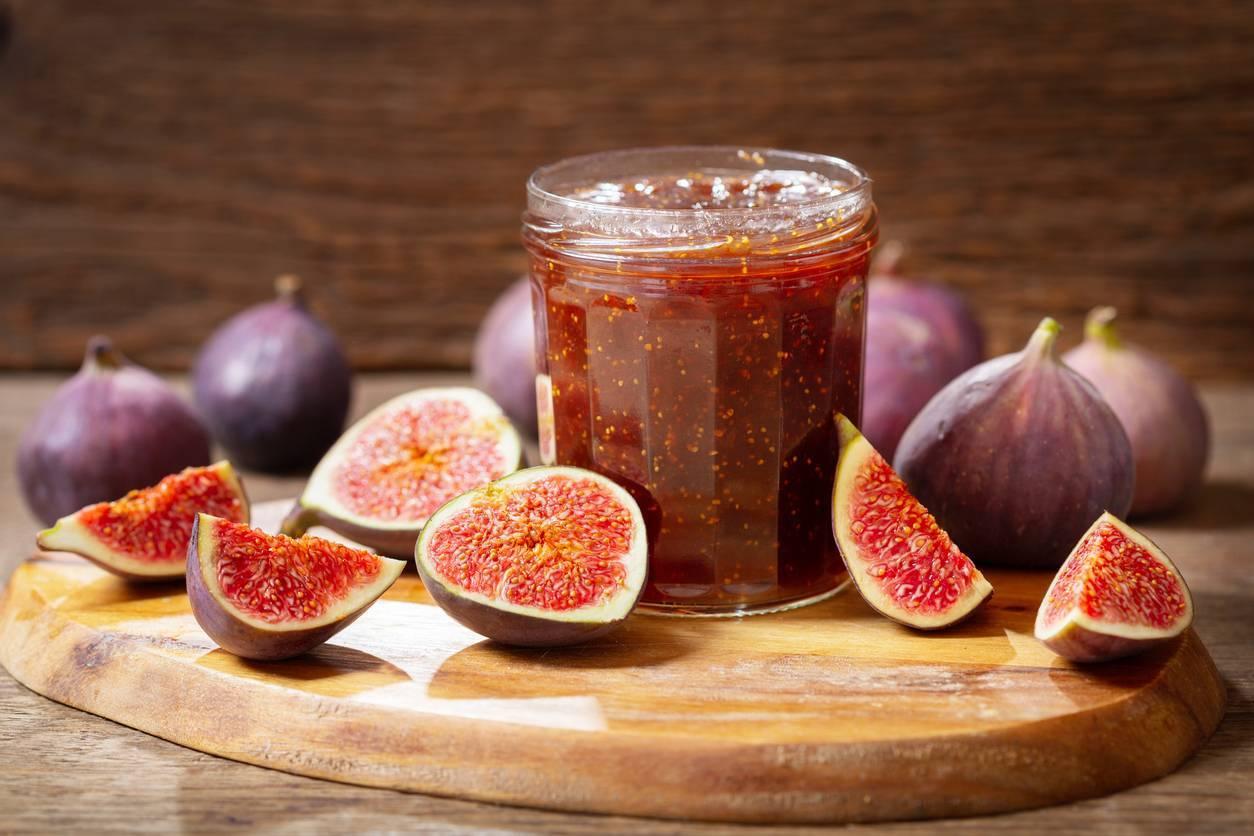 confiture de figues aux noix