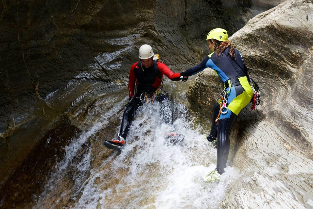 Canyoning park argelès-sur-mer
