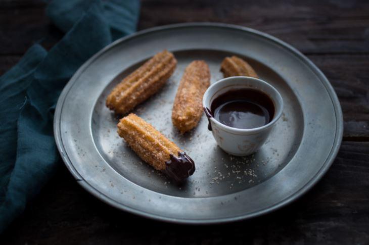 Ma recette de Churros à la sauce chili au chocolat