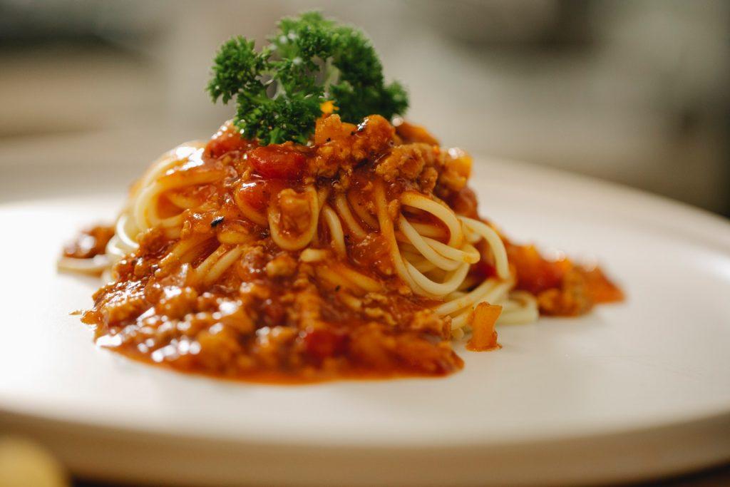 Je vous donne ma recette de spaghetti bolognaise