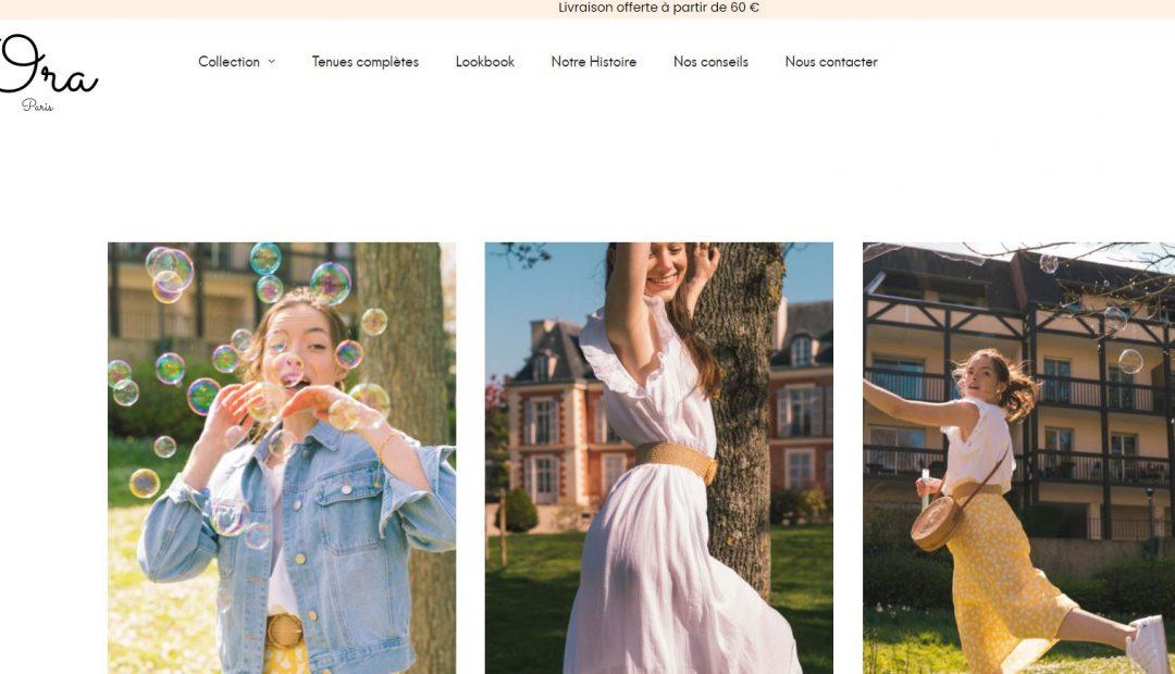 Mon avis sur la boutique de vêtements en ligne Ora Paris
