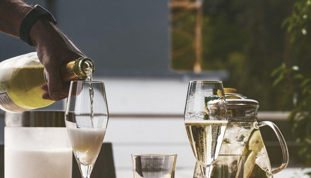 Un seau à champagne pour garder vos boissons au frais